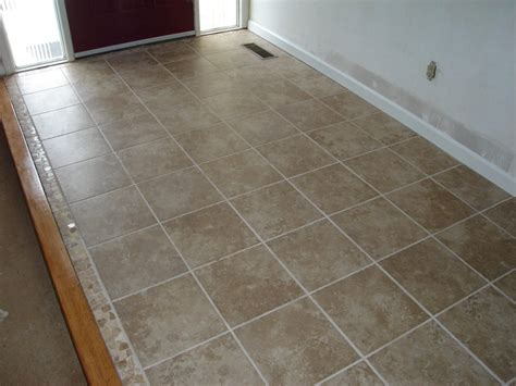 ceramic tile floor w mosaic trim edgerton ohio