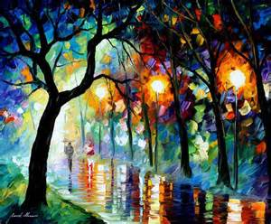 Beautiful Oil Paintings by Leonid Afremov | Incredible Snaps