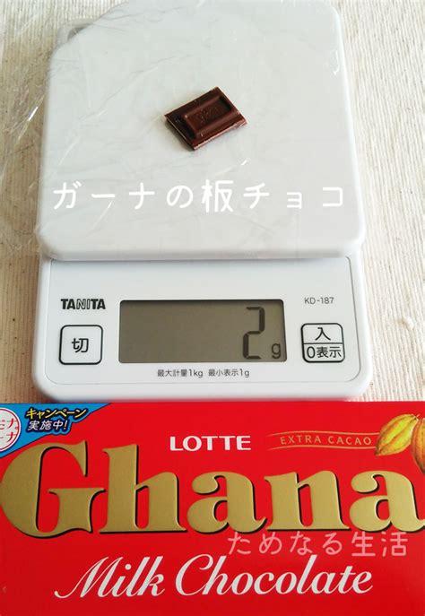 板 チョコ 一 枚 何 グラム