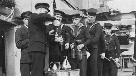rum soaked royal navy sobered