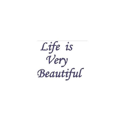 Is Beautiful Quotes Quote Designs Free Embroidery Designs Embroidery Quote