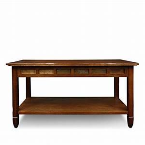 Rustic slate rectangular coffee table rustic oak finish for Rustic beach coffee table