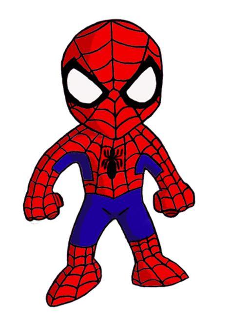spider man clipart cute pencil   color spider man