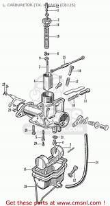 Honda Cb125 Cb93 General Export L  Carburetor  T K  Kikaki