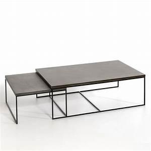 Table Basse Grande Taille : table basse auralda petite taille tables pinterest ~ Teatrodelosmanantiales.com Idées de Décoration