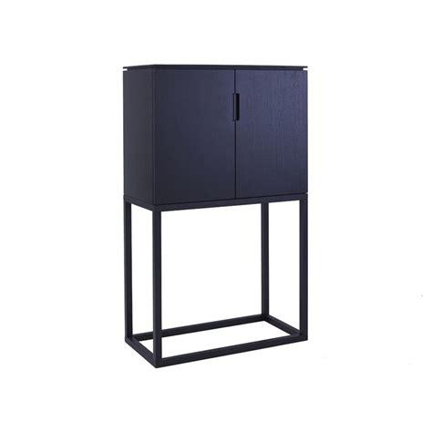 Black Wood Sideboard by Petronilla Classic Black Wood Sideboard Casa Uniqua