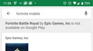 google play store  tells   doesnt  fortnite