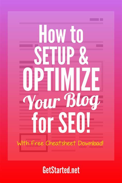 Beginner Seo How Setup Optimize Your