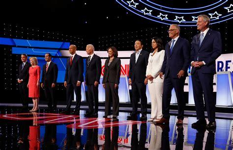 democratic primary debate night  winners  losers