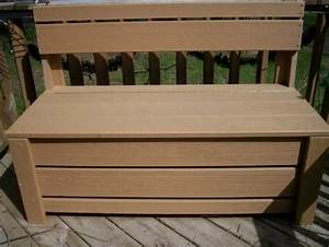 Patio Outdoor Storage Bench Waterproof – Home Design Ideas