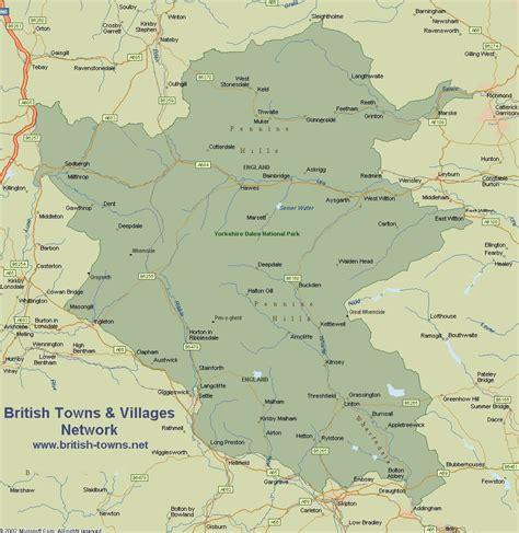 map   yorkshire dales national park