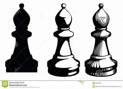 Chess Bishop Piece Clipart Elephant Clip Cliparts