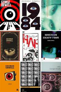 1984 By George Orwell, In Covers | BookRiot.com