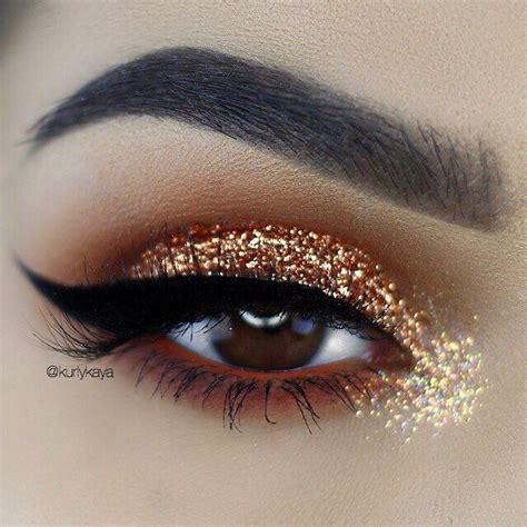 golden eyeshadow pictures   images  facebook