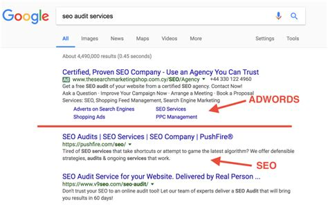 Results Seo by What Is The Difference Between Seo And Ppc