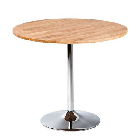 bistrotisch rund holz clp bistro tisch rund 216 80 cm marville holz metall