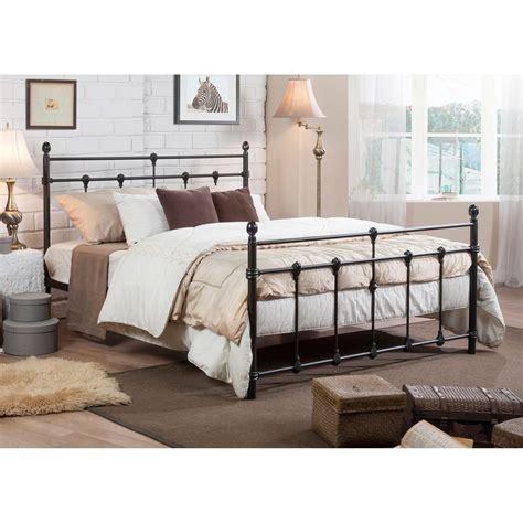 shabby chic metal bed belinda shabby chic antique dark bronze full queen size iron metal platform bed ebay