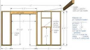 wood shed plans 12x10 saltbox shed plans