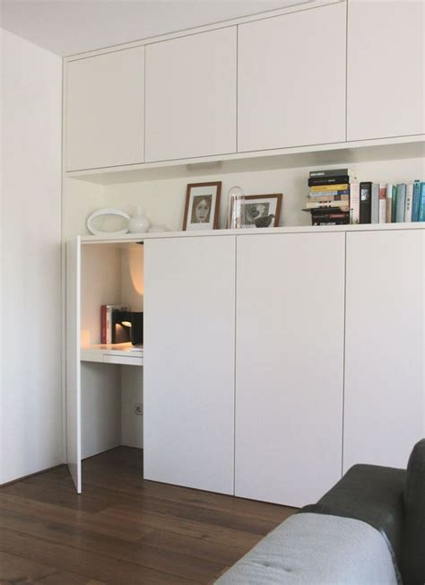 meuble de bureaux inspiration diy un bureau escamotable pour petits