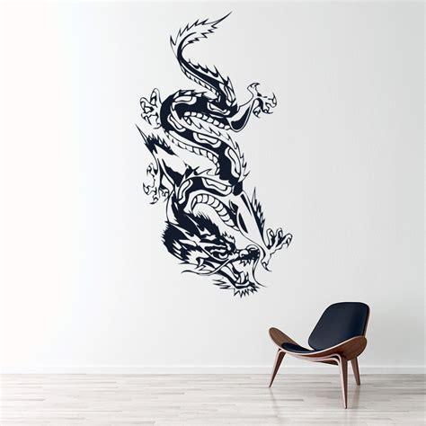 chinese dragon wall sticker animals fantasy wall decal