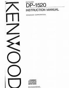 Kenwood Dp-1520