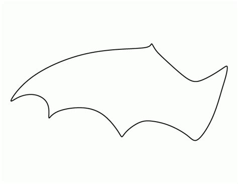 bat wing template bat wing template for pumpkin free design templates
