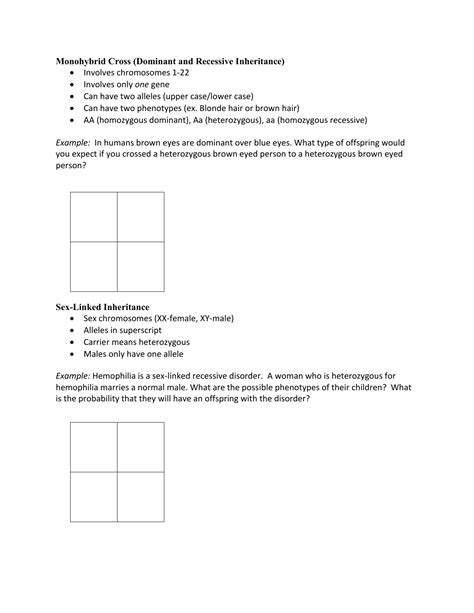 A punnett square simulates two organisms reproducing sexually, examining just one of the many genes that get passed on. Punnett Square Examples (Notebook)