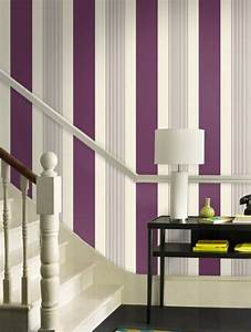 Striped Wallpaper Fits In With Any Style