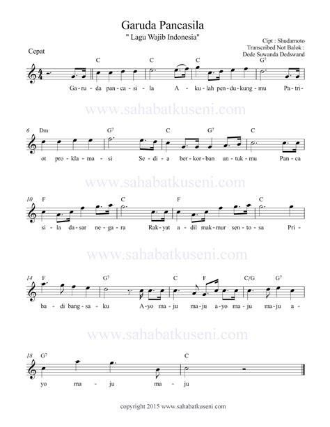 lagu pileuleuyan beserta not angka lirik lagu lagu wajib nasional lirik lagu wajib nasional