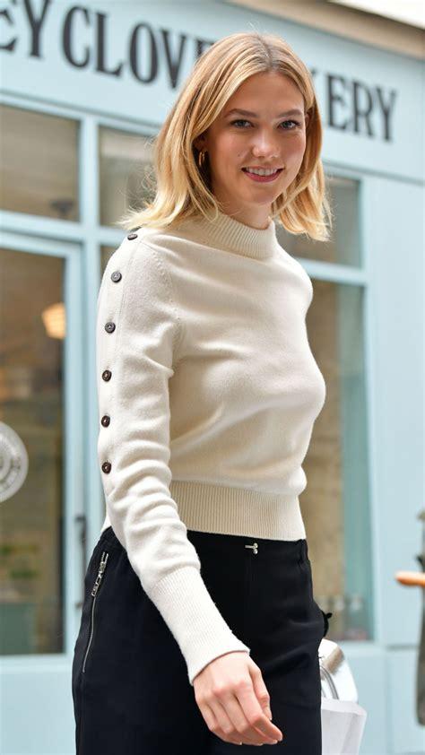 Karlie Kloss Arrives Stoney Clove Bakery Paris