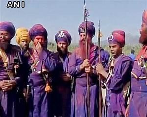 Festive spirit marks Hola Mohalla in Anandpur Sahib