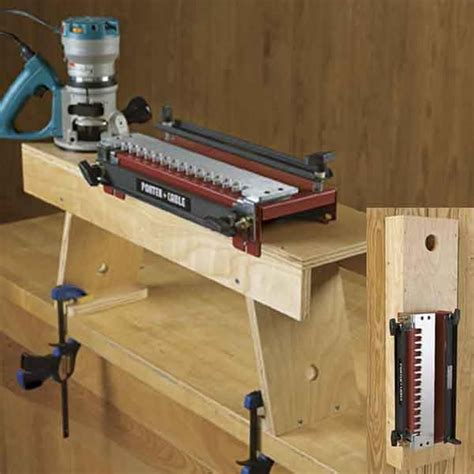 dovetail jig station woodworking plan  wood magazine arts  crafts   dovetail