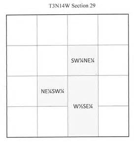 Section Township Range Map