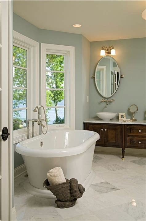 Blue Bathroom Paint Colors by Bathroom Paint Color Benjamin Slate Blue 1648