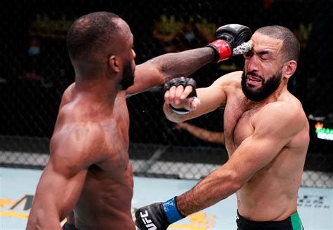 Edwards has seen nearly everything go wrong since beating rafael dos anjos in july 2019. Leon Edwards UFC return ends in a no contest after brutal ...