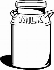 Can milk clipart