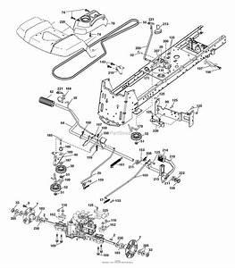 35 Husqvarna Lgt2654 Drive Belt Diagram