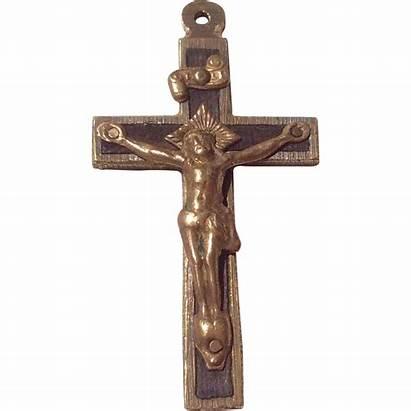 Catholic Early Crucifix Very Ruby Bestkeptsecrets