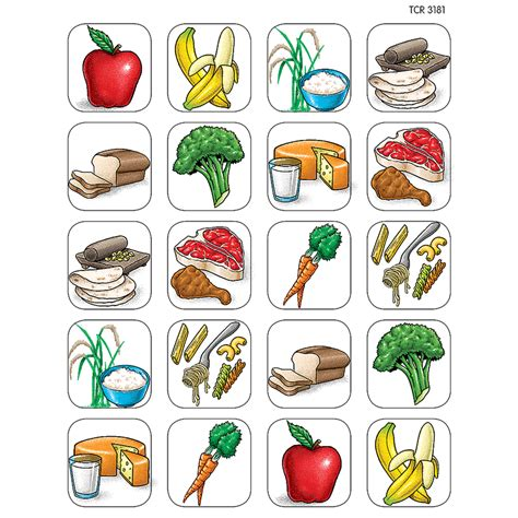 cuisine stickers food stickers tcr1381 created resources