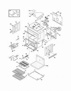 Frigidaire Feb27t5dcb Electric Wall Oven Parts