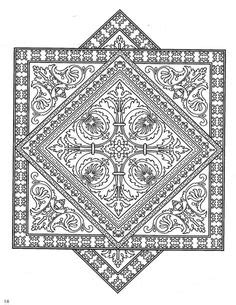 zentangle tile template 1000 images about zentangle coloring pages on decorative tile coloring books and