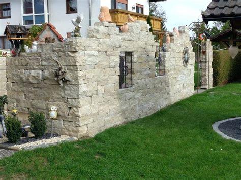 Garten Sichtschutz Kosten by Garten Steinmauer Steinmauer Im Garten Gestalten Kreative