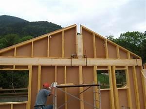 Ossature Bois Maison : prix autoconstruction maison ossature bois boismaison ~ Melissatoandfro.com Idées de Décoration