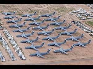 WORLDS LARGEST us air force AIRCRAFT GRAVEYARD documentary ...