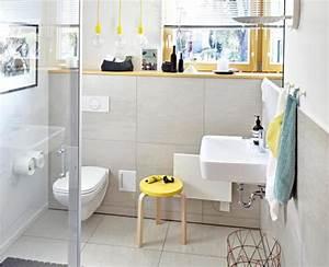 Tapeten Badezimmer Beispiele : g ste wc gestaltung und ideen sch ner wohnen ~ Markanthonyermac.com Haus und Dekorationen