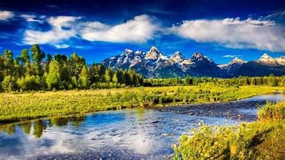 Spring River 4k Montana Wallpapers Pc Desktop