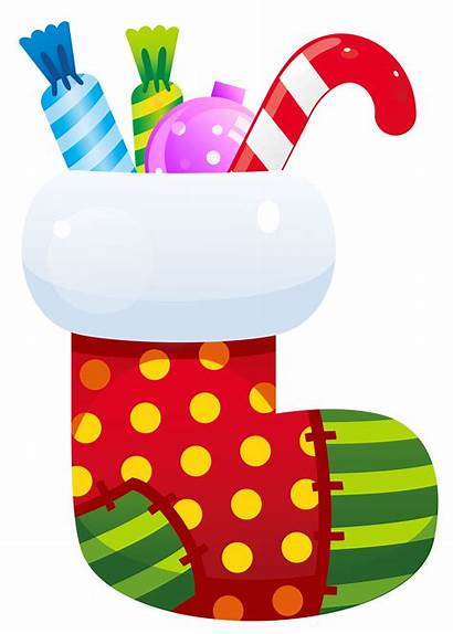 Stocking Clipart Transparent Socks Xmas Natal Navidad
