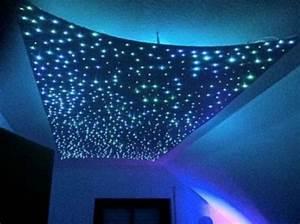 Decke Mit Stoff Abhängen : amzdeal luci a fibre ottiche skylight 5w rgb led stella del cielo della stella 240 fibra ottica ~ Sanjose-hotels-ca.com Haus und Dekorationen