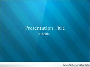 Blue PowerPoint Templates Free Download