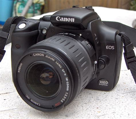 Eos Digital Canon by Canon Eos 300d Wikimedia Commons
